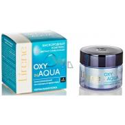 Lirene Oxy in Aqua omladzujúci, okysličujúci hydro-gél nočný krém pre normálnu pleť 50 ml