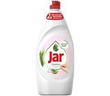 Jar Sensitive Aloe Vera & Pink Jasmine Scent Prostriedok na ručné umývanie riadu 900 ml