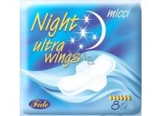 Micci Ultra Night Wings intimní vložky s křidélky 8 ks