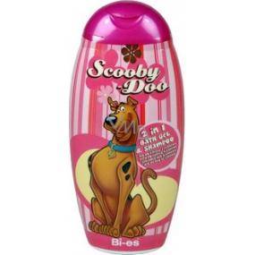 Disney Scooby-Doo 2v1 sprchový gél do kúpeľa a šampón 250 ml ružový obal