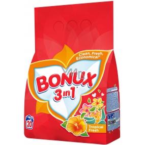 Bonux Tropical Fresh 3v1 prací prášek 20 dávek 1,5 kg
