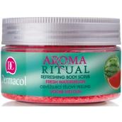 Dermacol Aroma Ritual Vodní meloun Osvěžující tělový peeling 200 g Fresh Watermelon