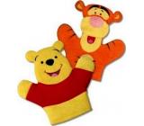 Medvídek Pú mycí žínka pro děti 22 x 21,3 x 1,5 cm 1 kus