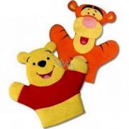 Disney Medvedík Pú umývací špongia pre deti 22 x 21,3 x 1,5 cm 1 kus