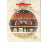 Albi Dárková papírová malá taška 13,5 x 11 x 6 cm Vánoční TS4 96250