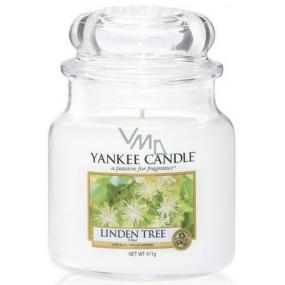 Yankee Candle Linden Tree - Lípa vonná svíčka Classic střední sklo 411 g
