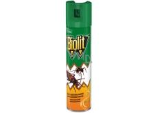 Biolit P proti lezúcemu hmyzu s vôňou pomaranča sprej 400 ml
