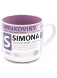 Nekupto Hrnkoviny Hrnček s menom Simona 0,4 litra