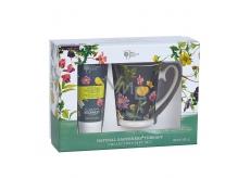Bronnley RHS Natural Gardeners Therapy krém na ruky a nechty 100 ml + Hrnček darčeková sada
