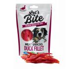 Brit Lets Bite Kačacie filety doplnkové krmivo pre psov 300 g