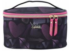 Diva & Nice Lipstick Love Kozmetická kabelka kufrík 22 x 12 x 12 cm 30045