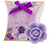 NeoCos Ruže fialová mydlová darčekové voňavé toaletné mydlo 30 g