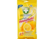 Green Shield Household Surface Wipes 4v1 pre domácnosť vlhčené obrúsky 50 kusov