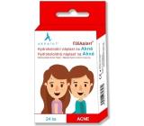 Aknelot Fixaplast Hydrokoloidní náplast na akné 24 kusů