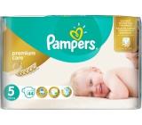 Pampers Premium Care 5 Junior 11-18 kg jednorázové plenky 44 kusů