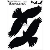 Samolepka siluety vtáky 42 x 30 cm č.3