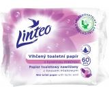 Linteo Vlhčený toaletný papier s kyselinou mliečnou 60 kusov