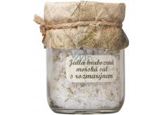 Bohemia Gifts & Cosmetics Rozmarín Jedlá hrubozrná morská soľ 60 g
