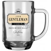 Nekupto Liga Pravých Džentlmenov Pivné poháre Som Gentleman - preto ma ženy milujú 14,5 x 13 x 10 cm