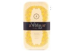Zador Mango a Pomeranč luxusní ručně balené, třikrát jemně mleté elegantní mýdlo s vodou z termálního jezera 160 g