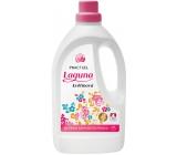 Laguna Kvetinová prací gél s vôňou kvetov ruže a jazmínu doplnenú tóny santalového dreva na pranie farebnej bielizne 42 pranie 1,5 l