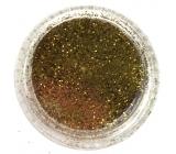 Professional Ozdoby na nechty glitter zlatý 132