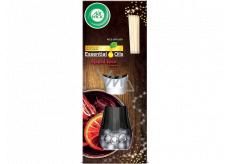 Air Wick Reed Diffuser Essential Oils Mulled Wine - Vôňa vareného vína vonné tyčinky osviežovač vzduchu 30 ml