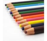Uni Mitsubishi Dermatograph Priemyselná popisovacie ceruzka pre rôzne typy povrchov Oranžová 1 kus