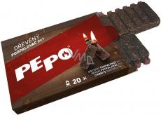 Pe-Po Podpaľovač 2v1 drevený 20 podpáli