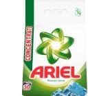 Ariel Mountain Spring prací prášek pro čisté a voňavé prádlo bez skvrn 50 dávek 3,75 kg