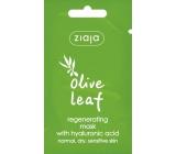 Ziaja Olivové listy regeneračná pleťová maska 7 ml