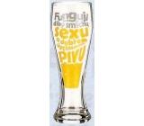 Nekupto Darčeky s humorom Pivné poháre humorné funguje len vďaka smiechu, sexu a pivu 0,6 l