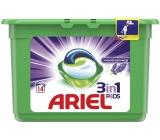 Ariel 3v1 Lavender Freshness gélové kapsule na pranie bielizne 14 kusov 378 g