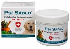 Dr. Weiss Psie sadlo Originálne bylinná masť pri kašli, prechladnutí, nádche, upchatom nosa, astma 75 ml