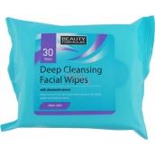 Beauty Formulas Odličovacie obrúsky pre hĺbkové čistenie 30 kusov