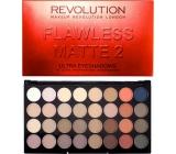 Makeup Revolution Ultra Eyeshadows paletka 32 očních stínů Flawless Matte 2 20 g