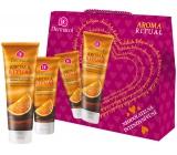 Dermacol Aroma Ritual Belgická čokoláda a pomaranč sprchový gél 250 ml + krém na ruky 100 ml, kozmetická sada