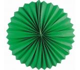 Lampión okrúhly stredne zelený 25 cm
