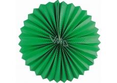 Lampión okrúhly zelený 25 cm
