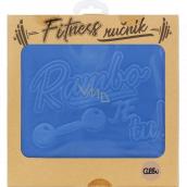 Albi Fitness uterák Rambo je tu modrý 90 x 50 cm