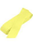 Nekupto Stuha látková taftová žltá 3 mx 15 mm