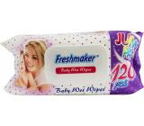 Freshmaker Baby Wet Wipes Jumbo vlhčené obrúsky pre deti 120 kusov