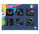 Albi Metal Twister Combo Kit 6v1 sada 6 hlavolamov, vek 6+