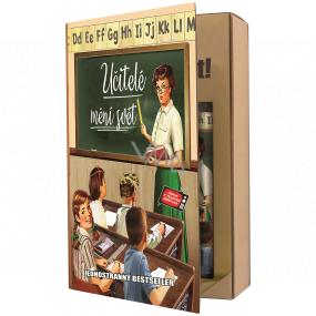 Bohemia Gifts Učitelia sprchový gél 200 ml + šampón na vlasy 200 ml, kniha kozmetická sada