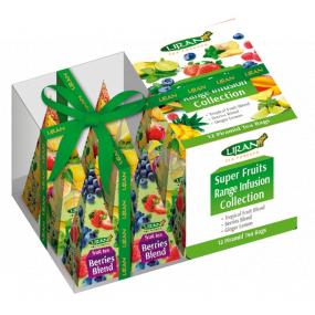 Liran Vianočné balenie Ovocné čaje v pyramídkach 12 x 2 g