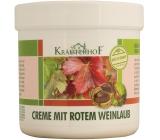 Krauterhof Krém z listů červené vinné révy a červeného kaštanu 250 ml