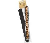 Kellermann 3 Swords Beauty pilník na nechty šmirgľový s dekorom PL4899