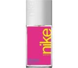 Nike Pink Woman parfémovaný deodorant sklo pro ženy 75 ml