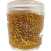 Ocean Glitter Gel trblietanie na telo a vlasy v gélu zlatý 10 g