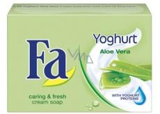 Fa Yoghurt Aloe Vera krémové toaletní mýdlo 90 g